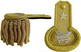 M1852 Naval Officers Dress Epaulets for Captains