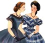 1863 Ball Gown. By Past Patterns #704, 19th Century