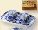 Meissen Inkwell / Ink Well Set