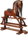 Rocking Horse - Large Victorian, 19th Century (1800s) toys and games.