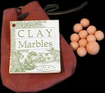 Clay Marbles, 19th Century (1800s) toys and games.