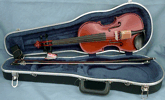 Violin or Viola Outfit by Thomas. Includes Violin orViola, hard case and bow.