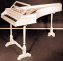 17th Century Italian Single Manual Harpsichord
