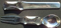 combo Knife, Fork and Spoon (1800s/19th Century)