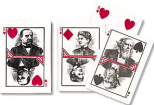 Grover Cleveland playing cards, 1888
