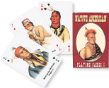 Native Americans playing cards, deck 1