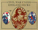 union playing cards, 1862 & 1863 decks