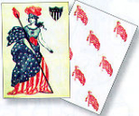 union playing cards, 1863