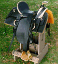 Drovers Saddle Fully Rigged
