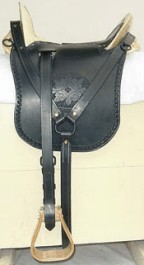Confederate (CS) McClellan Cavalry Saddle for Enlisted and Officer's