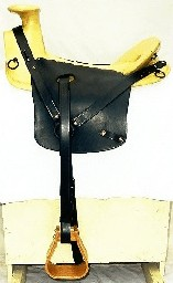 Civil War Ranger Saddle, also called California Saddle