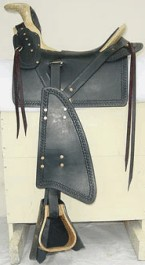 Military Style Spanish Saddle