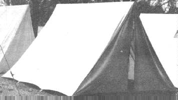 Shelter Half - Enlisted Tent