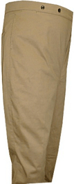M1898 Foot Trousers, Brown Canvas Duck