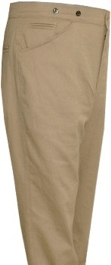 M1899 Mounted Trousers, Brown Canvas Duck