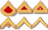 Civil War U.S. Chevrons, assorted