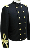 Civil War Senior Officers Shell Jacket with Sleeve Braid, American Civil War Military Uniforms