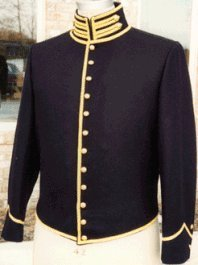 U.S. Civil War Cavalry Shell Jacket, American Civil War Military Uniforms