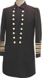 U.S. Naval Officer's Frock Coat, Rear Admiral