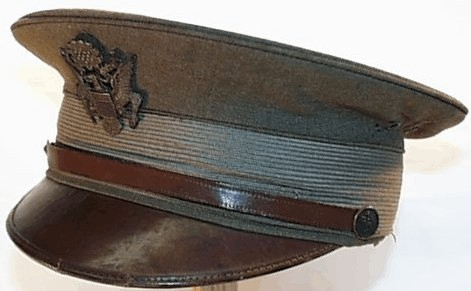 World War Officer's Visor Hat